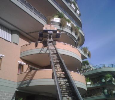 scala telescopica