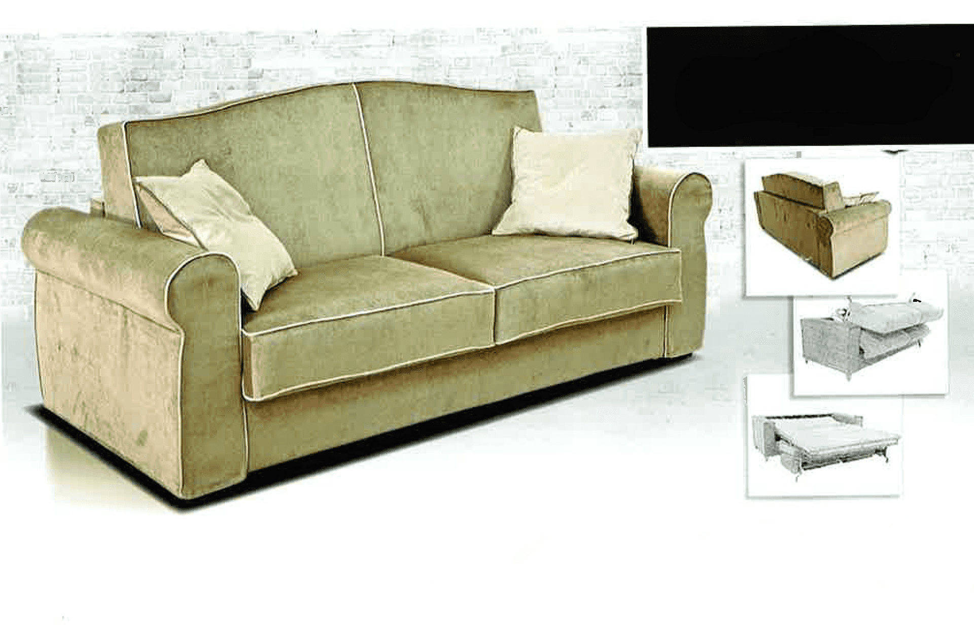 divano in tessuto