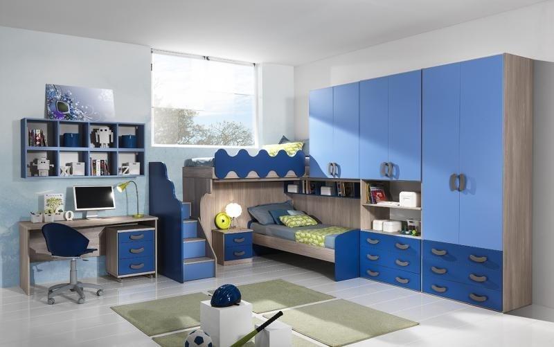 cameretta blu