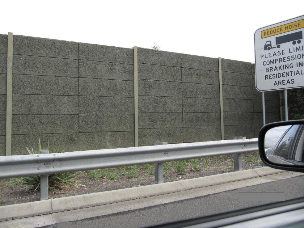 Motorway noise reduction
