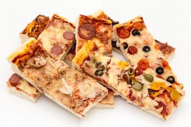 pizze e salatini