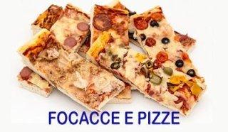 focacce e pizze