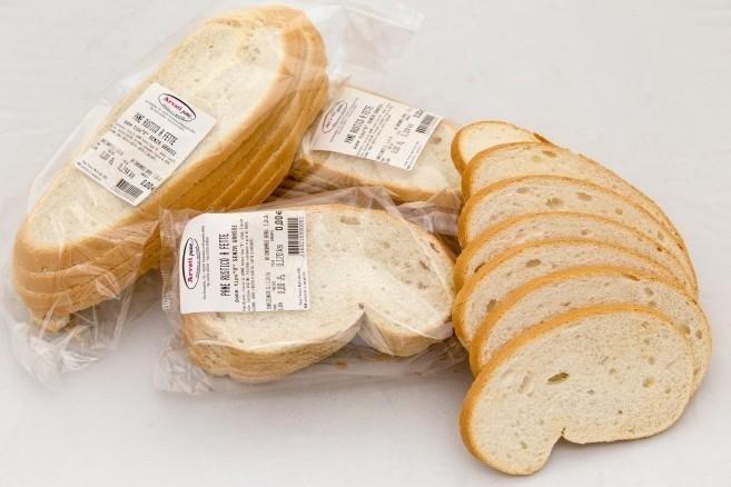 pane a fette per supermercati