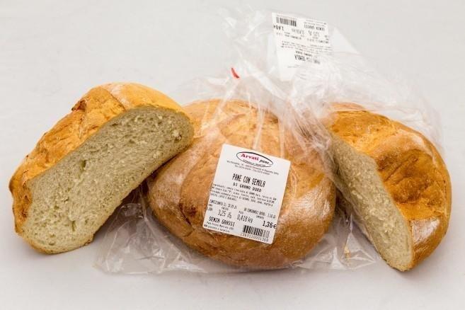 pane confezione supermercato