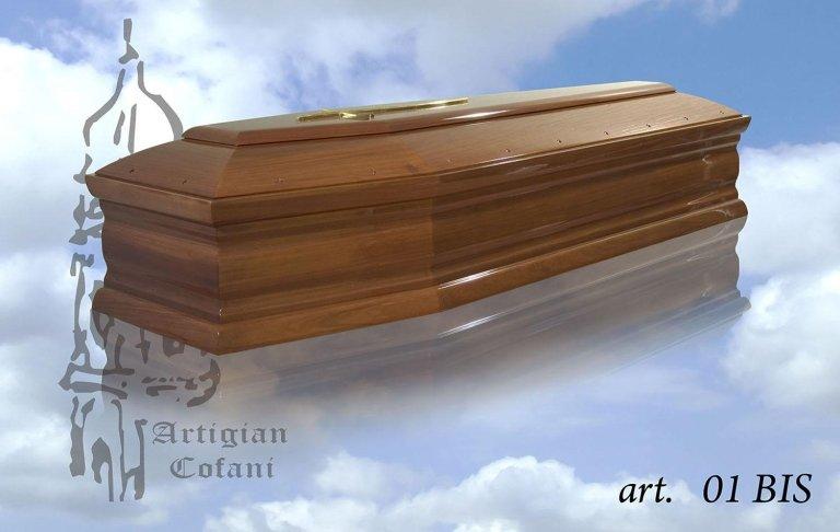 una bara in legno modello 01 Bis