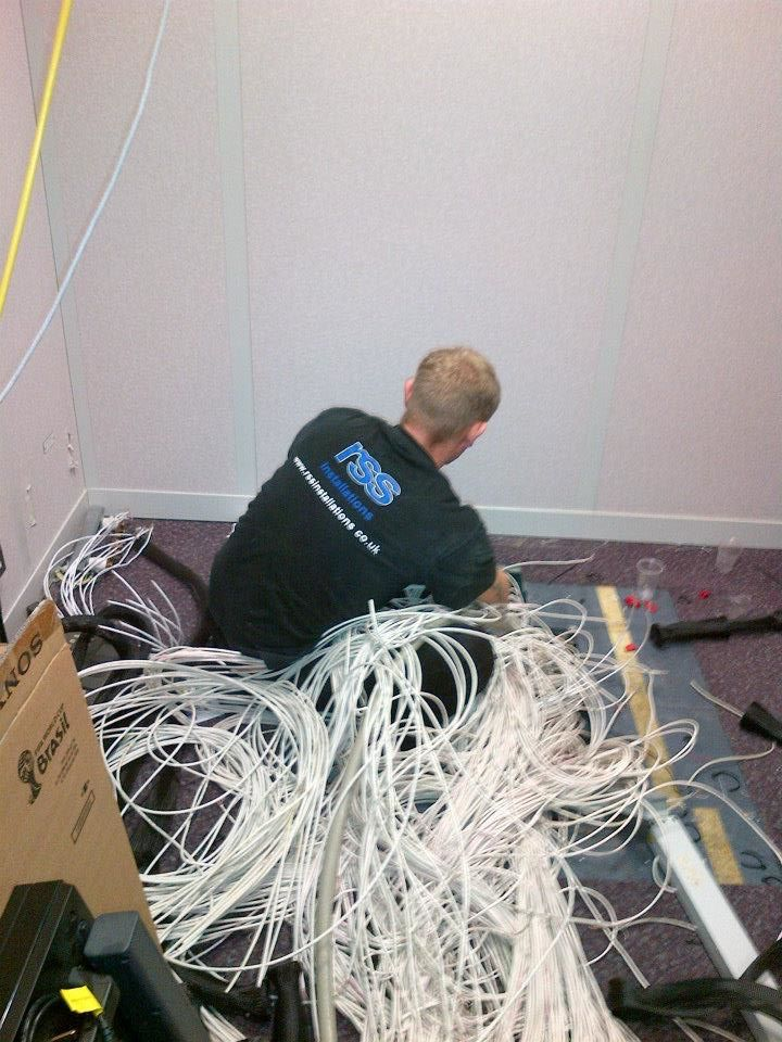 fibre optic cable installations