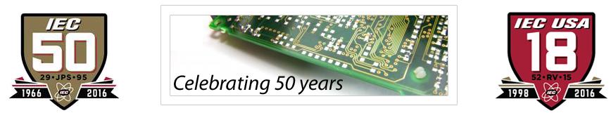IEC - Celebrating 50 years!