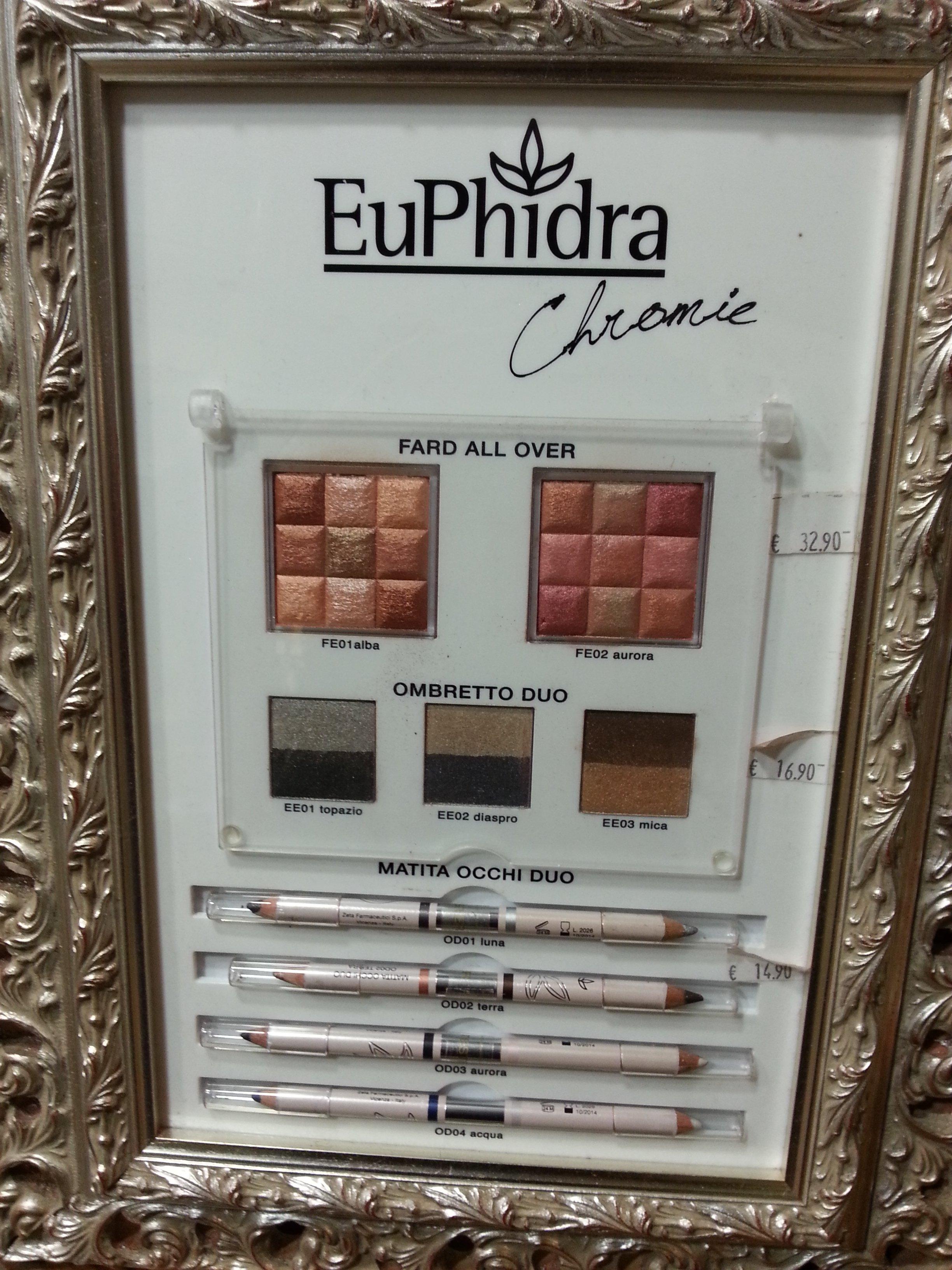 trucco a marchio EUPHIDRA
