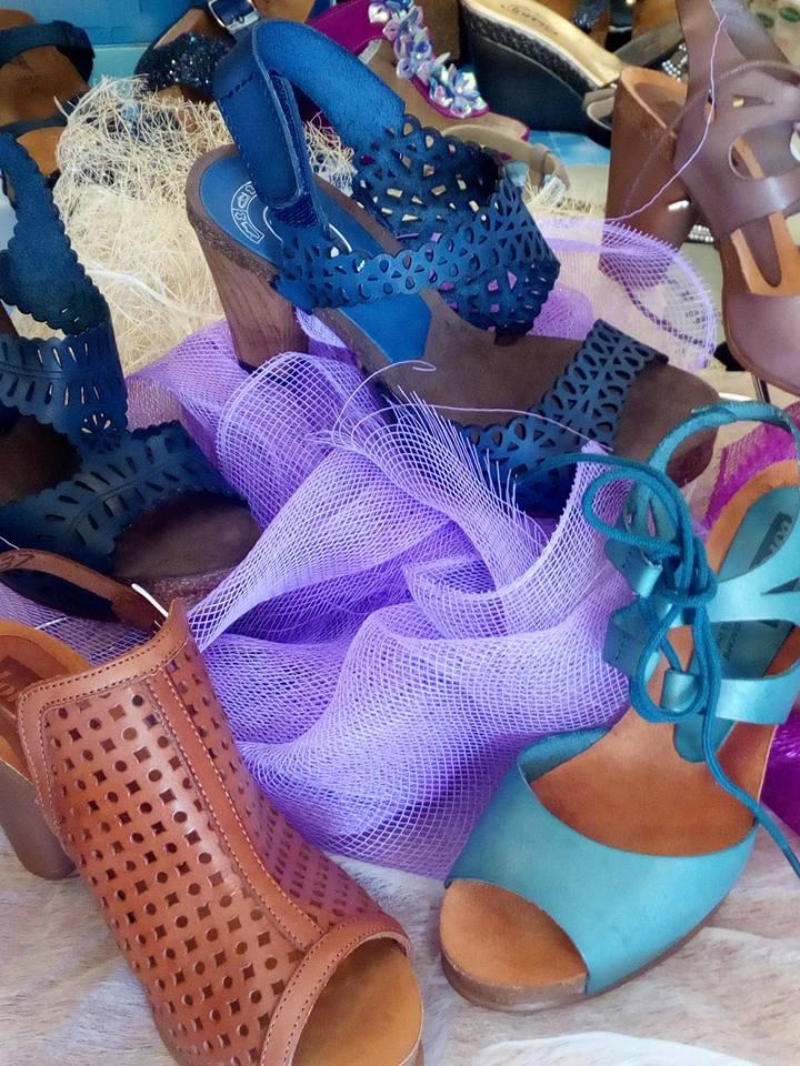 scarpe col tacco da donna