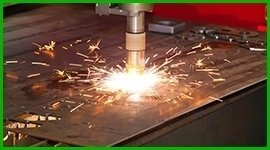 services for laser cutting plants