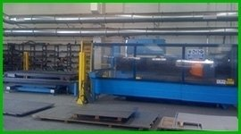 sale of laser cutting machinery