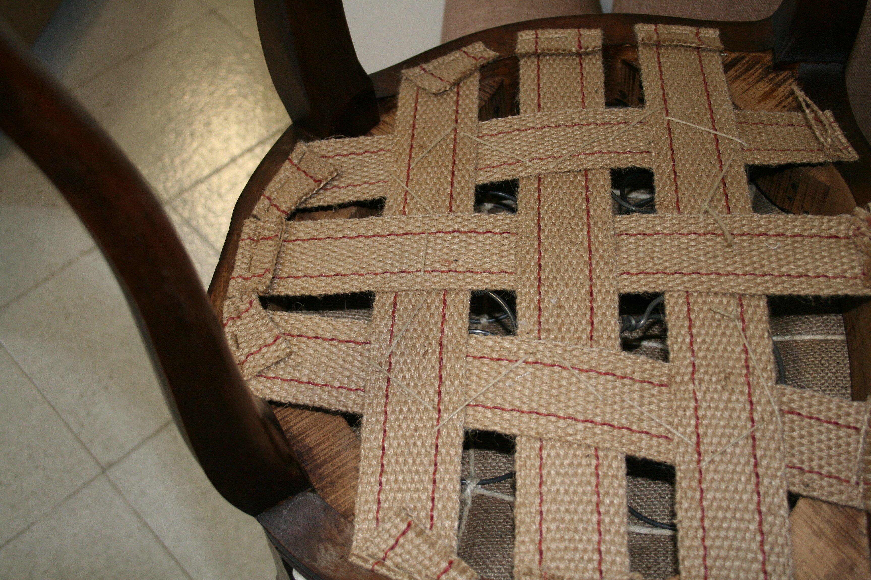 copri sedile di una sedia in tessuto