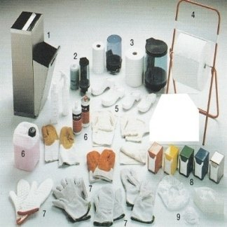 Guanti lunghi e corti per forno, Distributore sapone liquido e attrezzature per Cucina