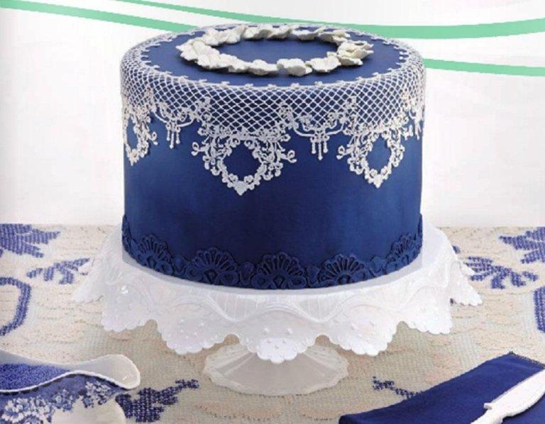 torta azzurra