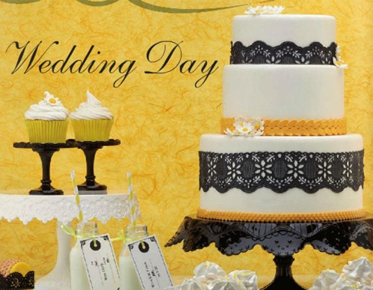 WEDDING DAY torte