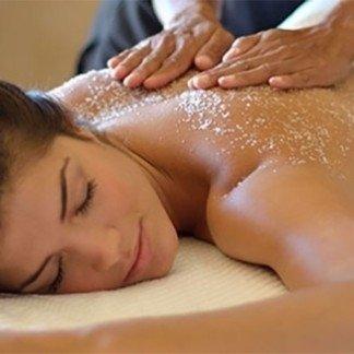Salt massage - La Maison