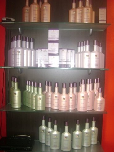 Espositore prodotti capelli La Maison