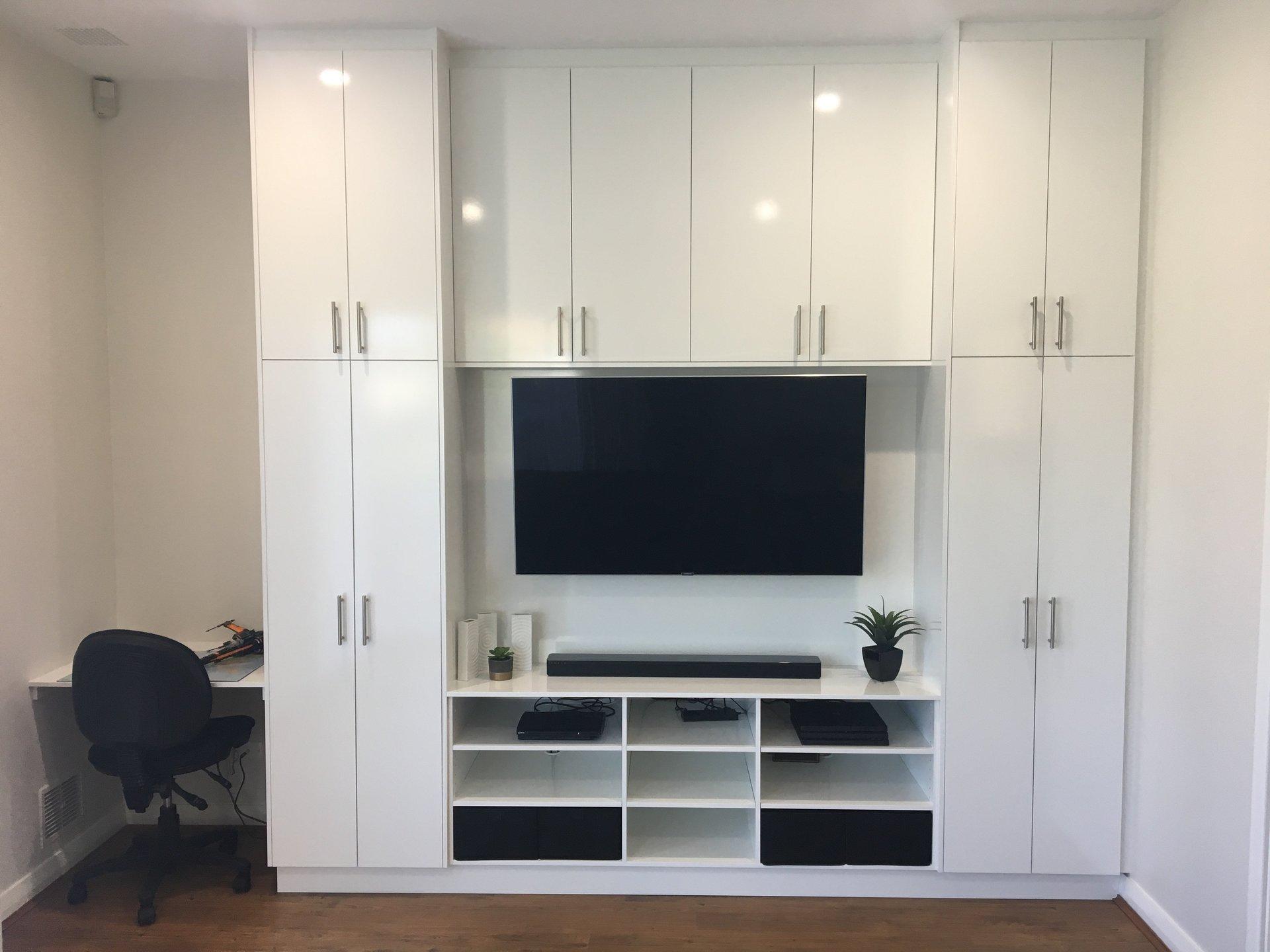 Custom Built Storage/Entertainment Unit Perth.