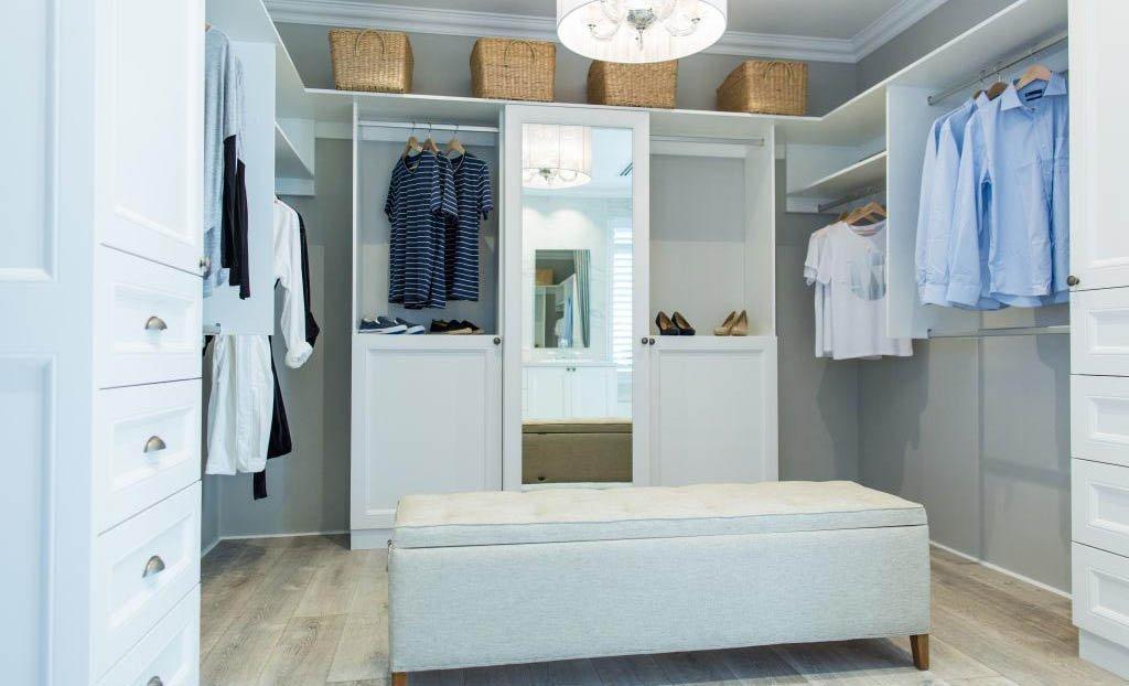 custom wardrobe interior