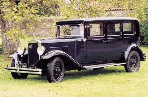 1930 Navy Blue Austin 20