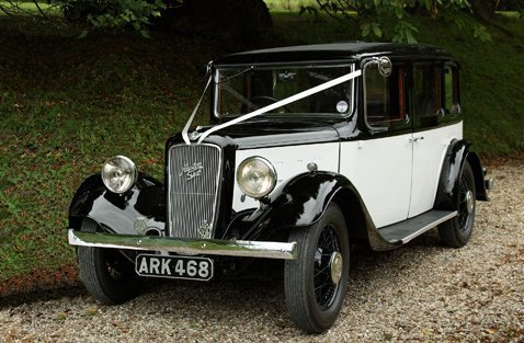 1935 Ivory Austin Chalfont Limo
