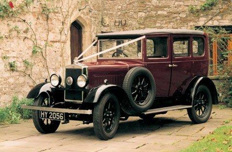 1931 Burgundy Morris Cowley