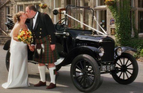 1921 Black Model 'T' Ford Tourer