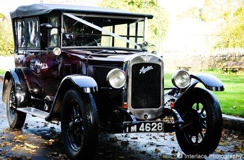 1928 Burgundy Austin 12