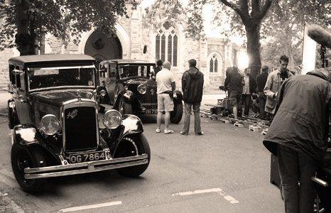 Genuine vintage cars