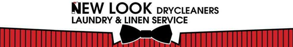 new look drycleaners laundry and linen service new logo