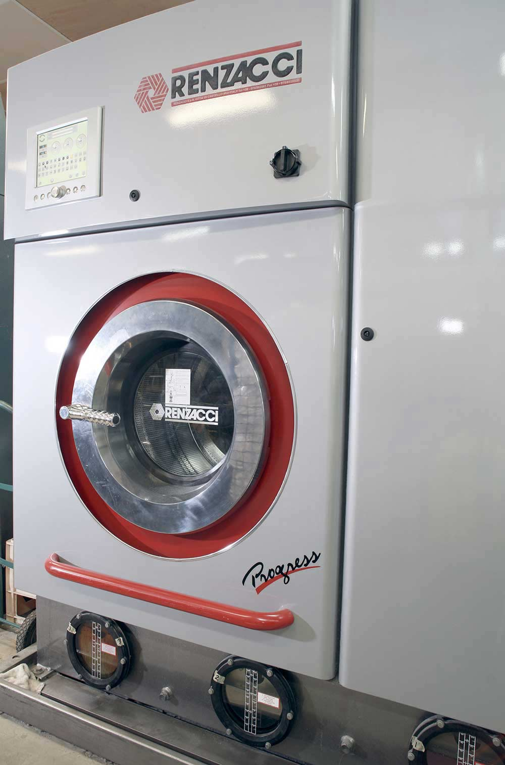 new look drycleaners laundry and linen service opening of cloth cleaning equipment