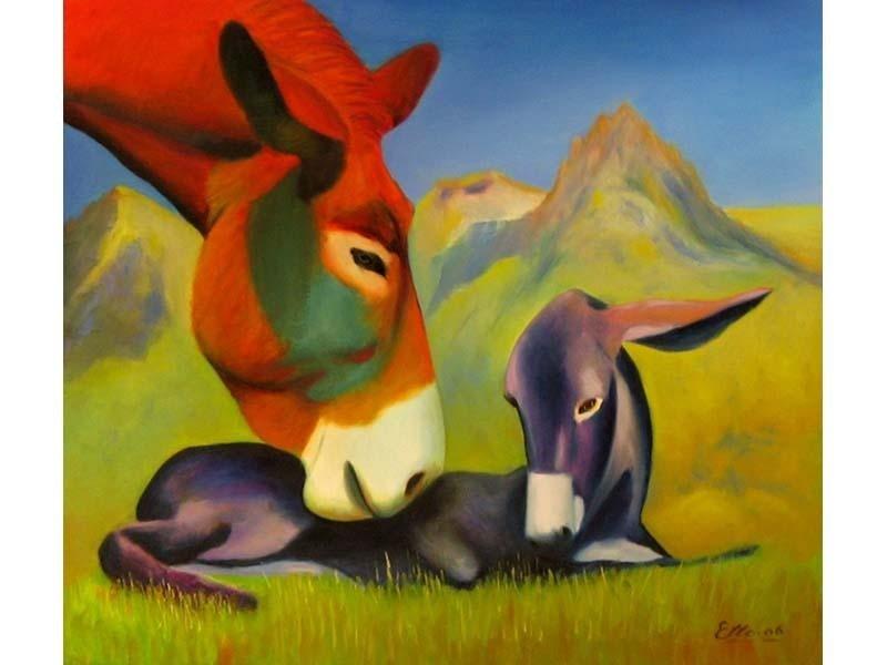 dipinto Etto Margueret