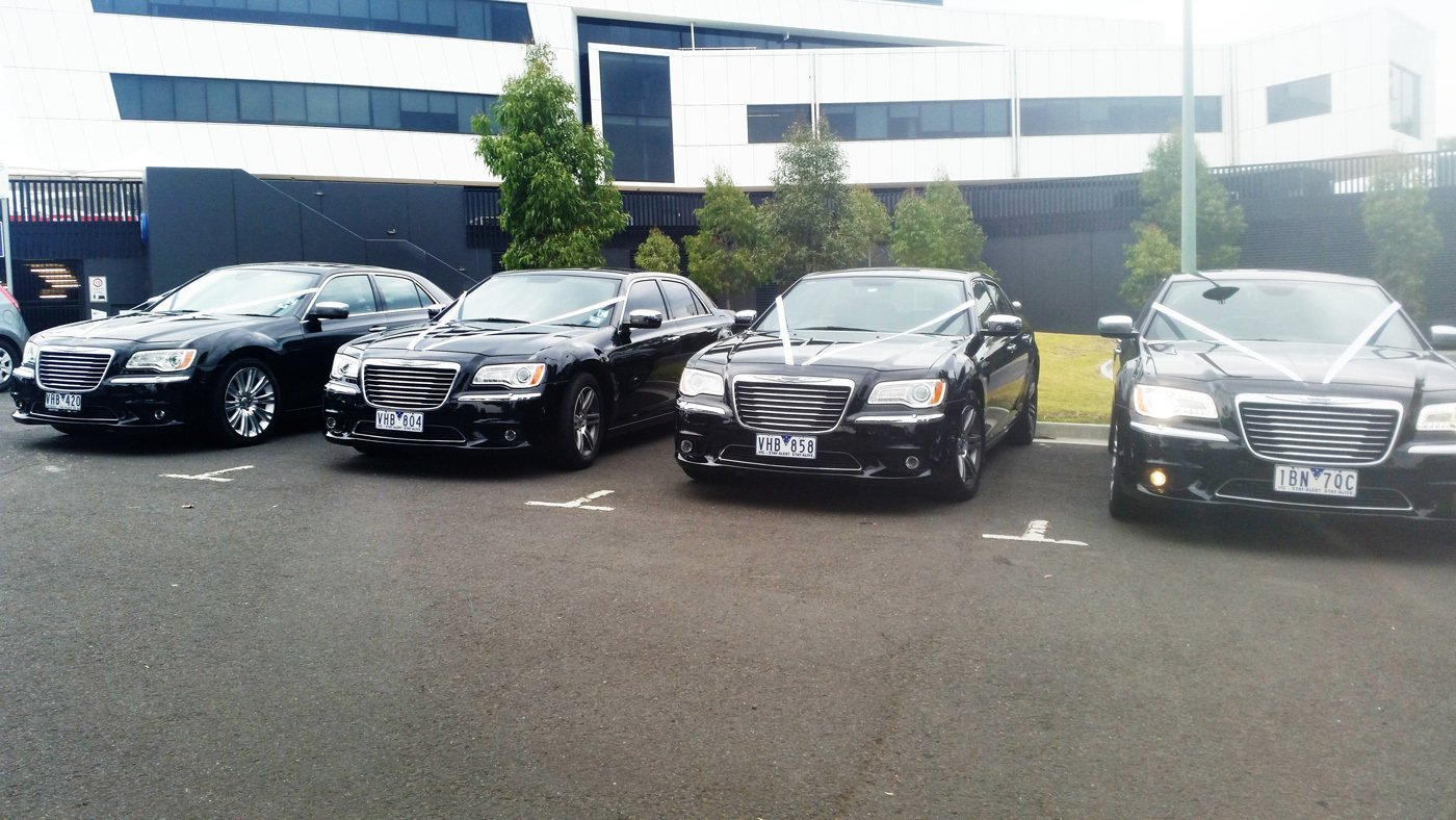 excellent chauffeur services for weddings in Melbourne