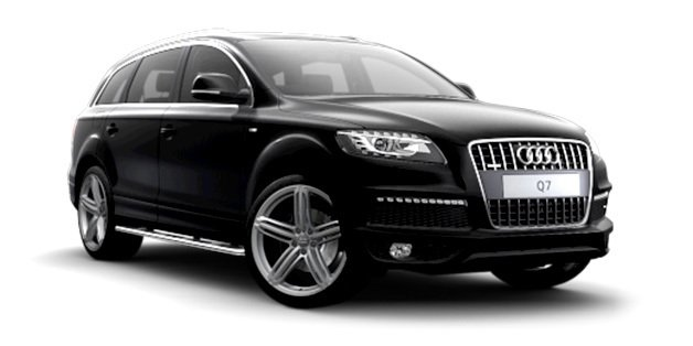 Luxury People Movers chauffeured Audi Q7