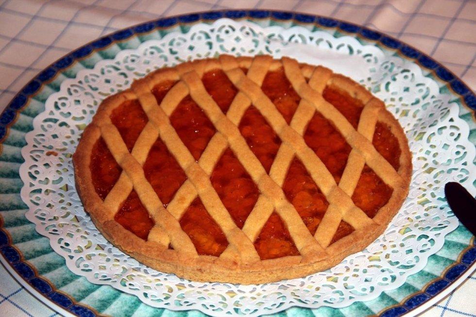 crostata albicocche
