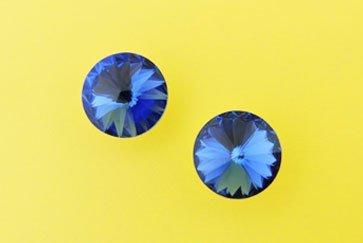 Due cristalli blu