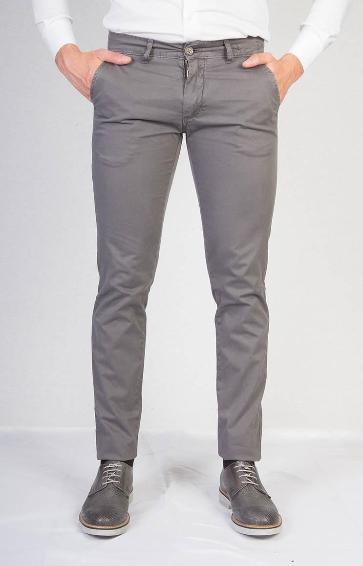 Pantaloni casual grigio