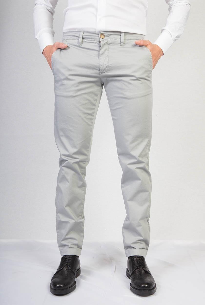 Pantaloni casual bianco