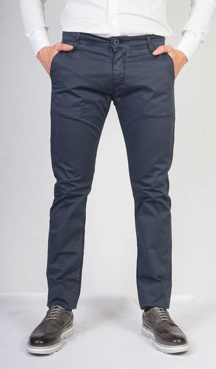 Pantaloni casual blu scuro