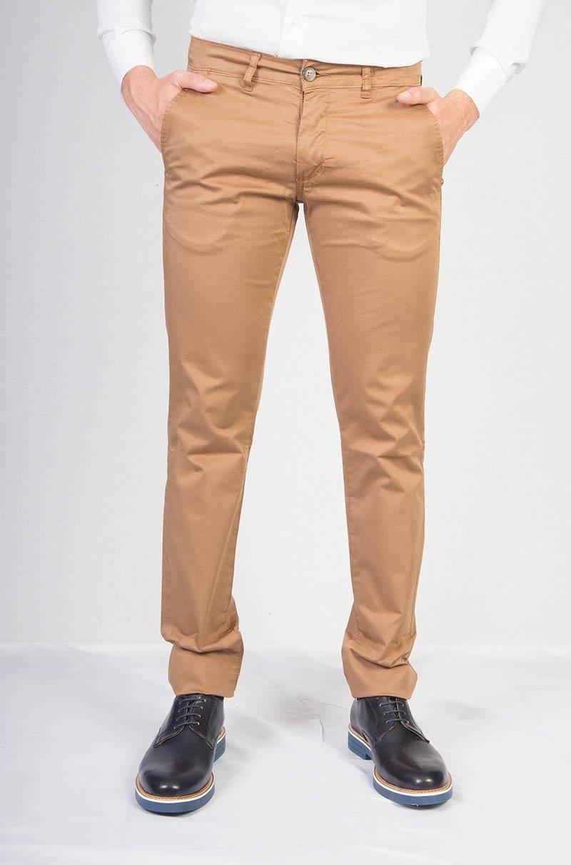 Pantaloni casual cammello