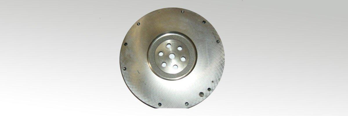Flywheel-machining