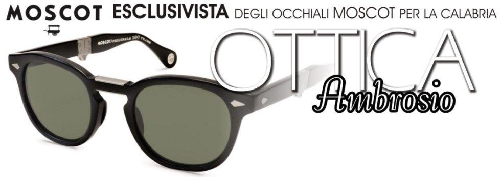 esclusivista occhiali moscot