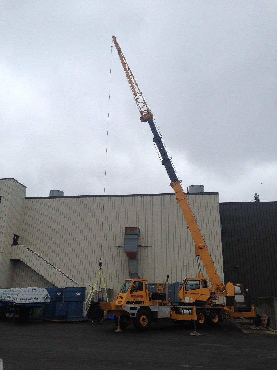 Crane Rental Buffalo & Olean, NY