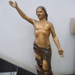statua bronzo chiesa