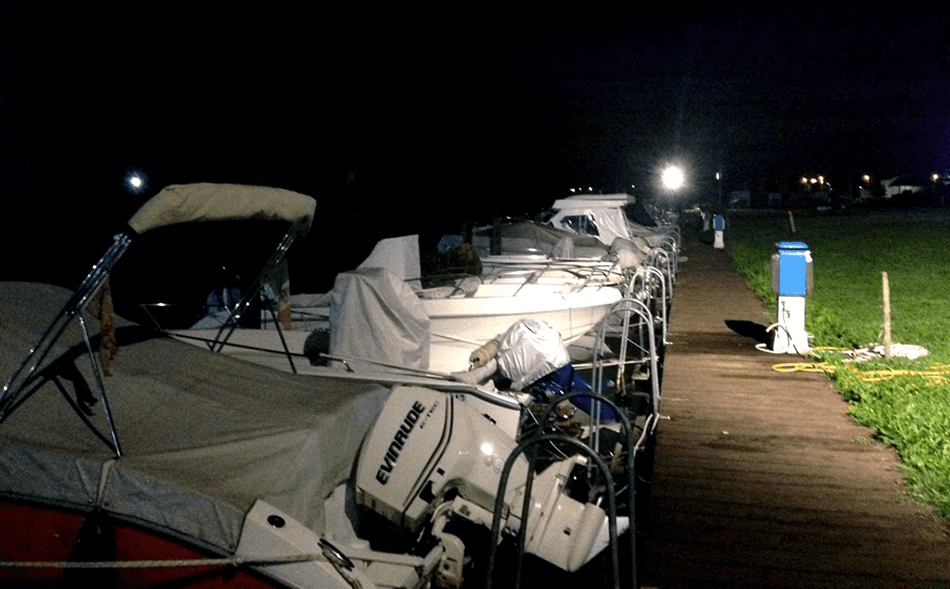 Posti barca con guardiania notturna