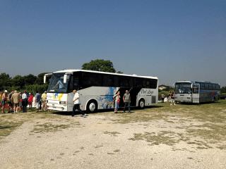Sosta autobus granturismo
