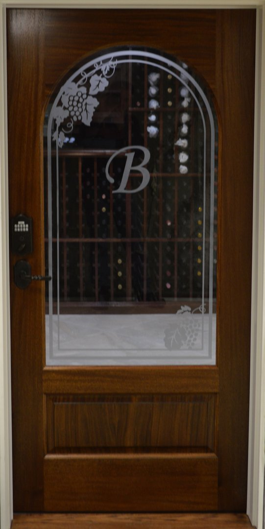 Argilla - Sandblasted Entry Door