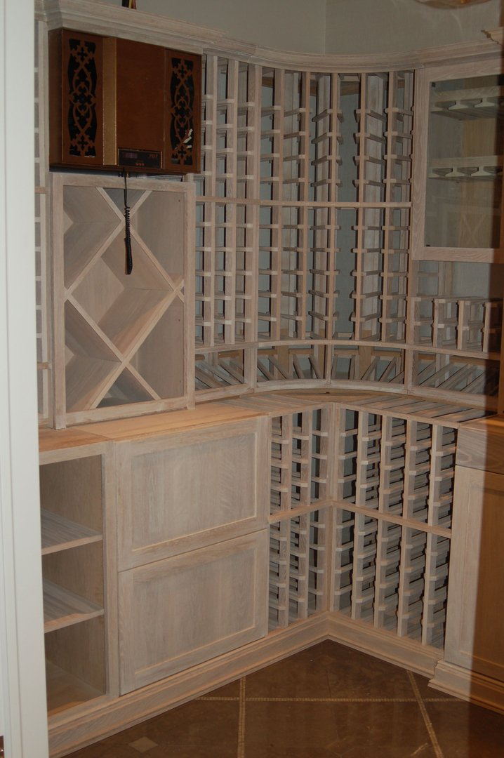 Beacshide -View of Left Rear Corner - Humidor closed and the WhisperKool Ductless Split System
