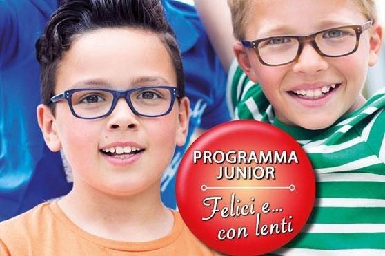 banner promozionale del programma junior