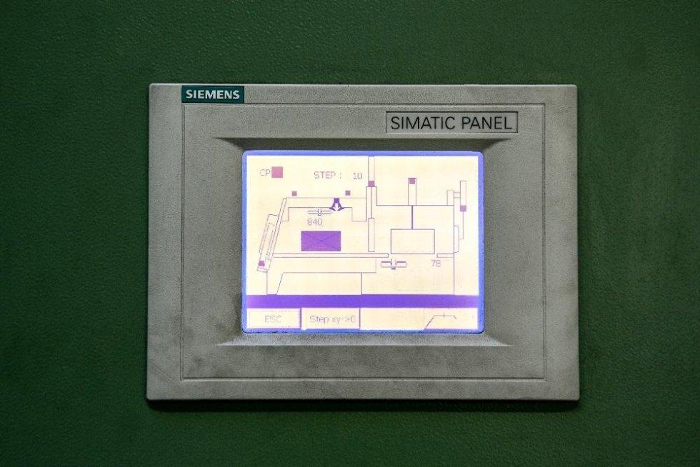 PLC bordo Impianto Ipsen per gestione controllo ed avanzamento